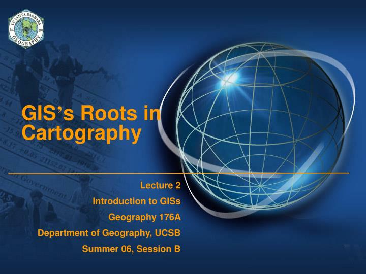 gis s roots in cartography n.