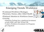 emerging trends workforce