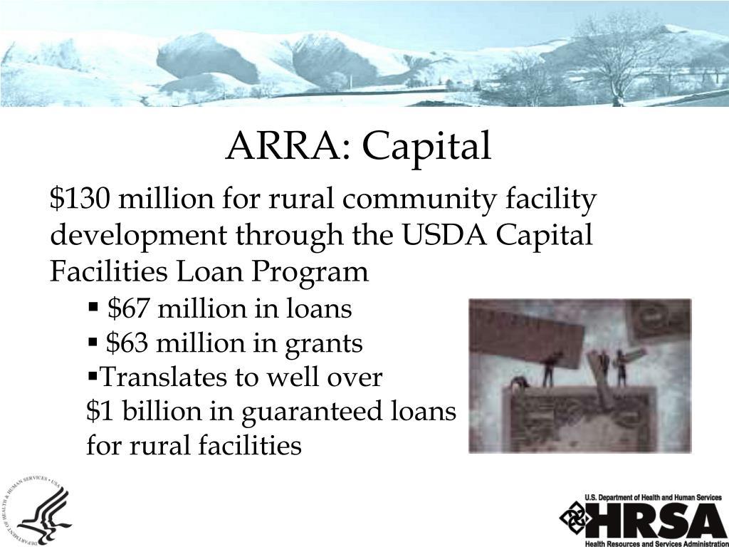 ARRA: Capital