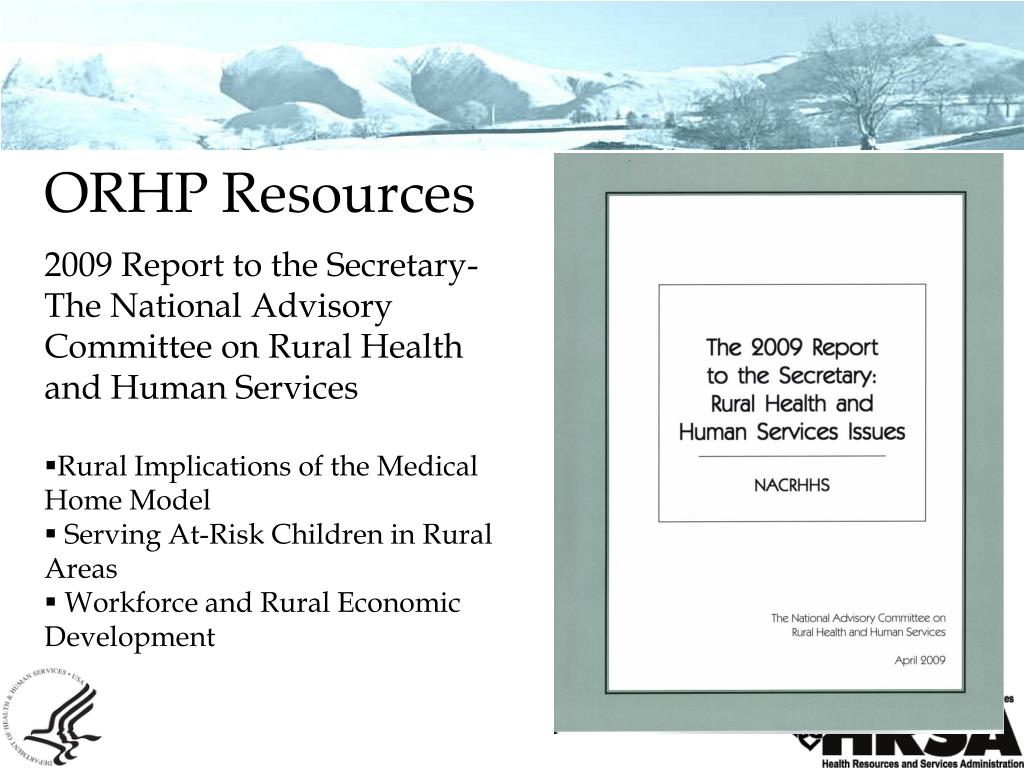 ORHP Resources