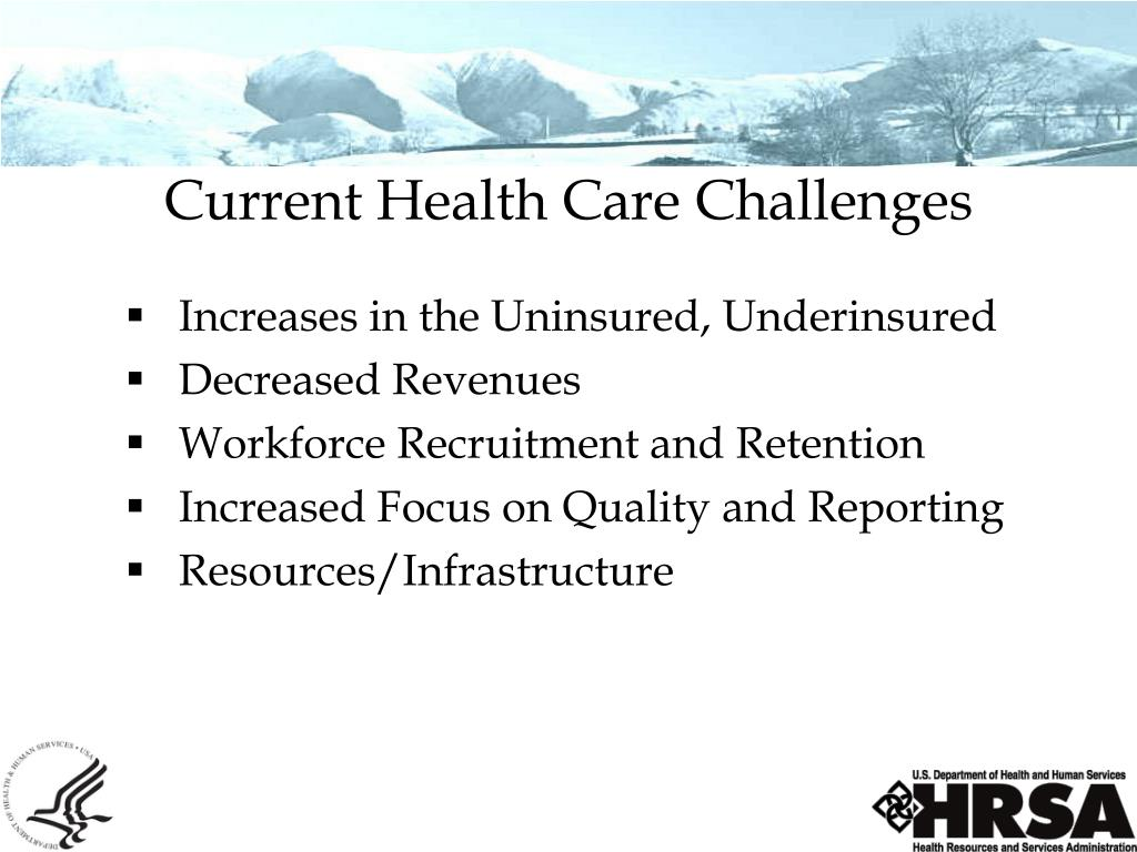 Current Health Care Challenges