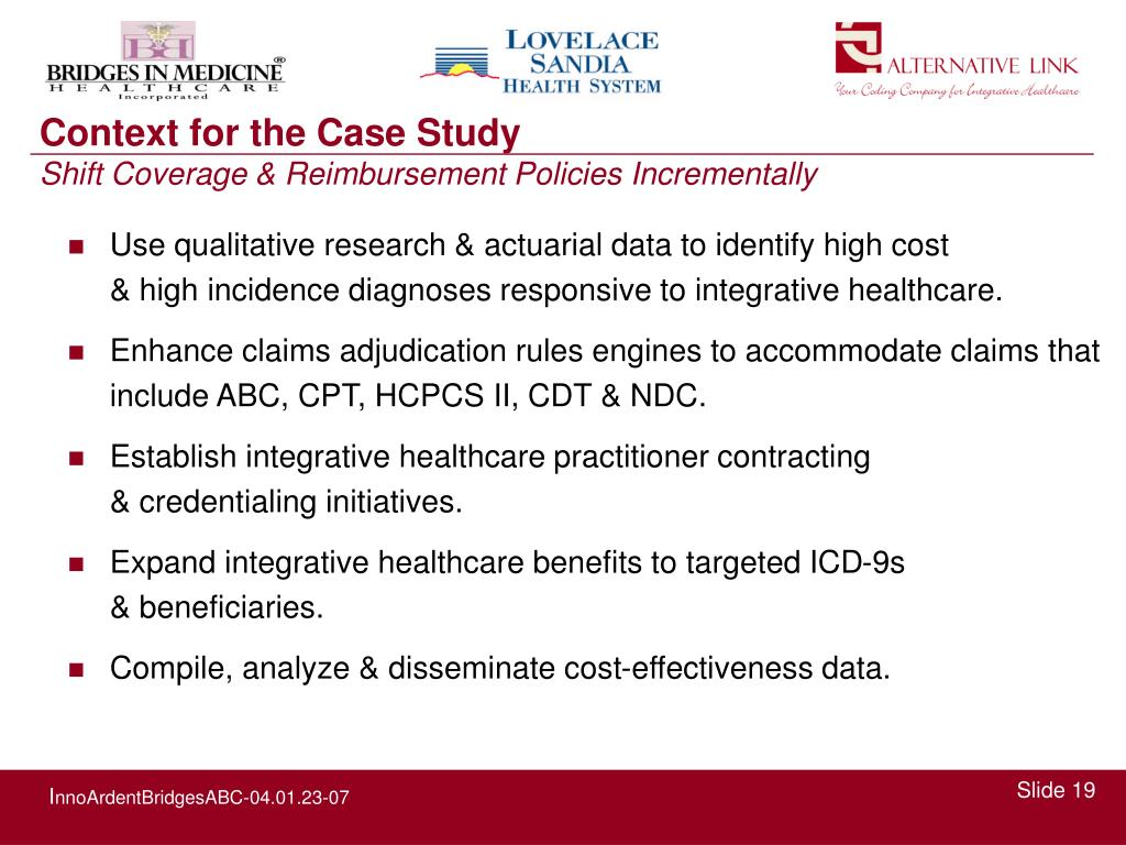 Use qualitative research & actuarial data to identify high cost