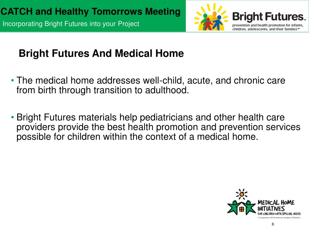 Bright Futures And Medical Home