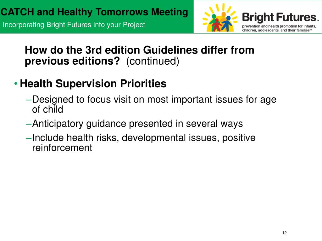 How do the 3rd edition Guidelines differ from previous editions?