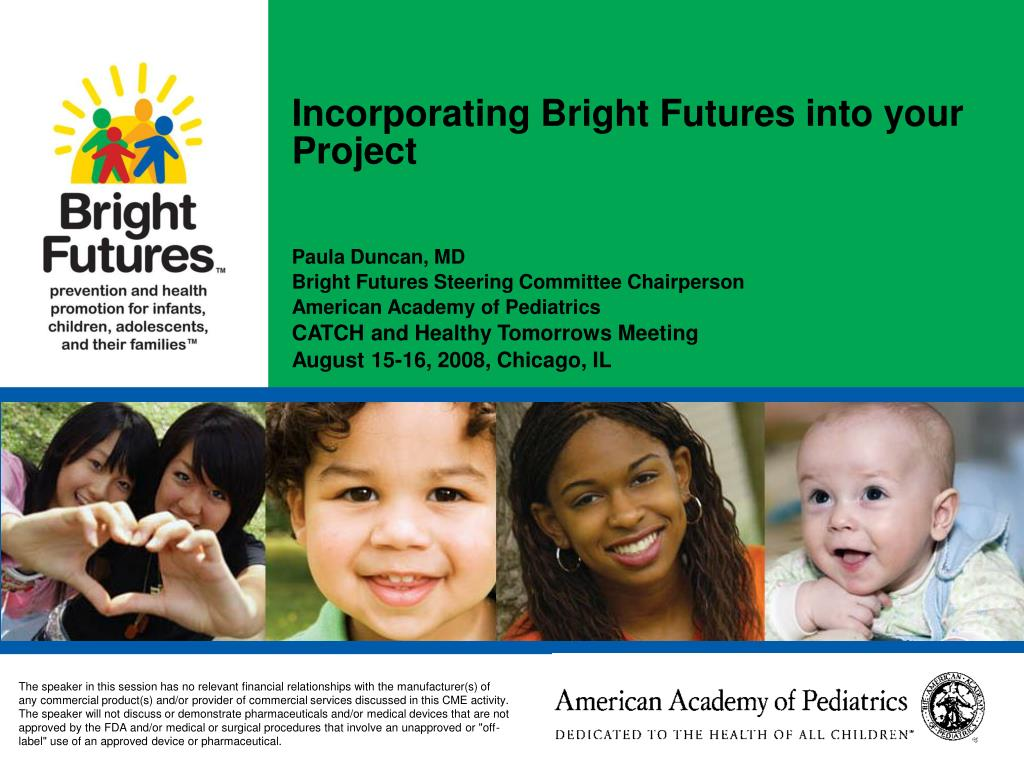 incorporating bright futures into your project l.