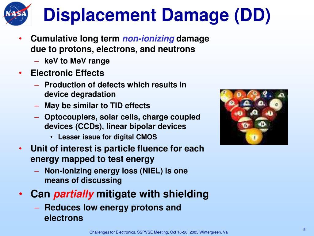 Displacement Damage (DD)