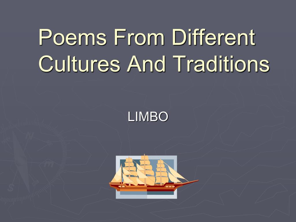 poems from different cultures and traditions l.