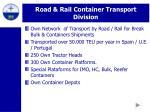 road rail container transport division20