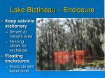 lake bistineau enclosure