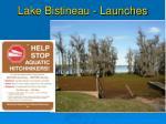 lake bistineau launches