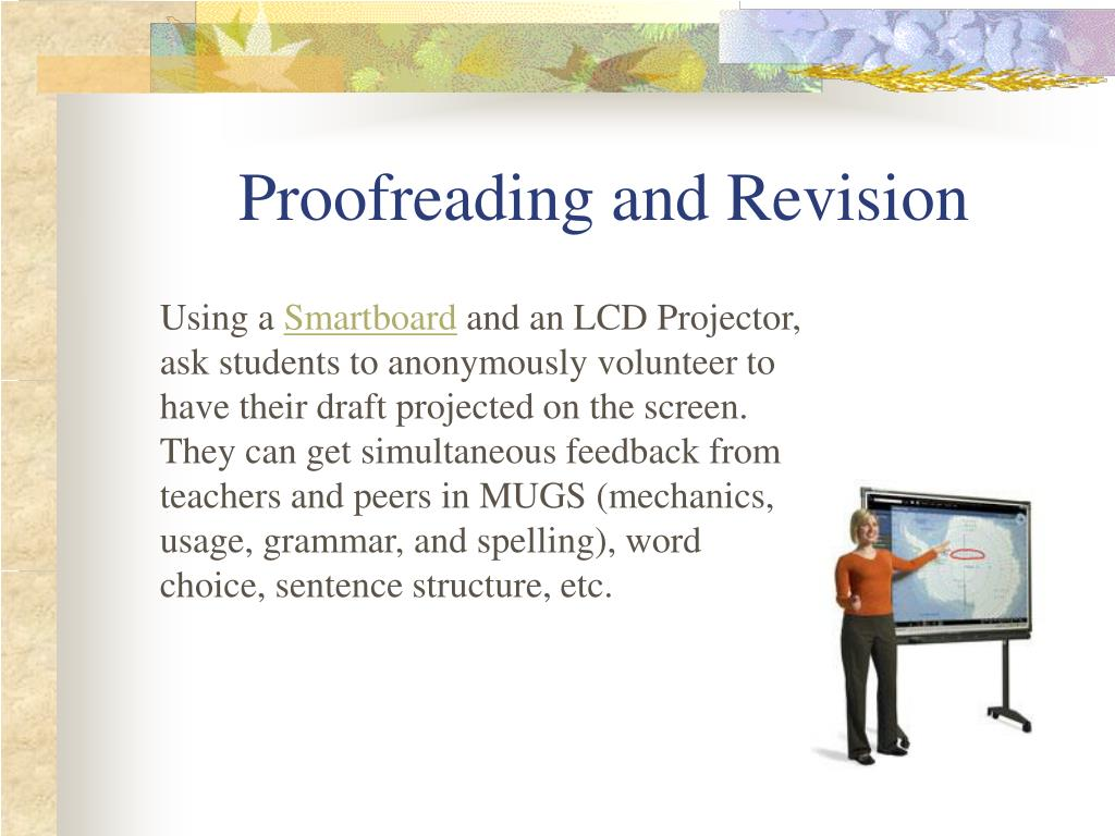Proofreading and Revision