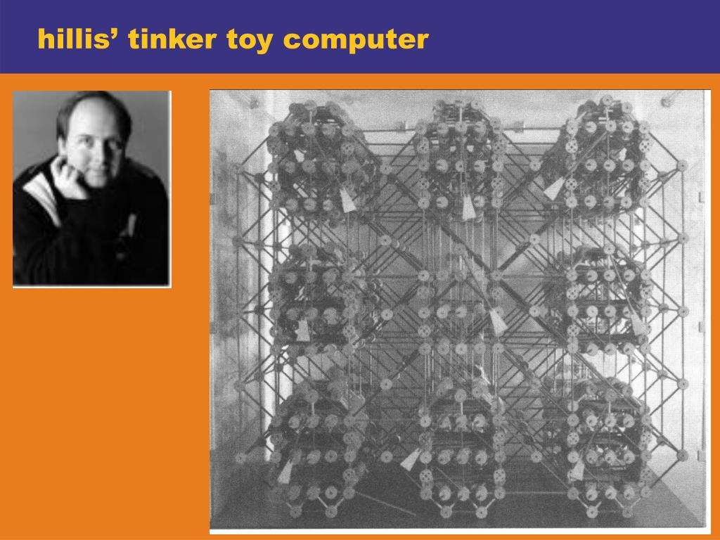 hillis' tinker toy computer