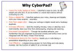 why cyberpad