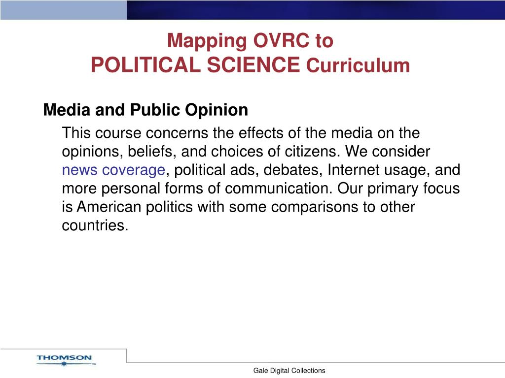 Mapping OVRC to