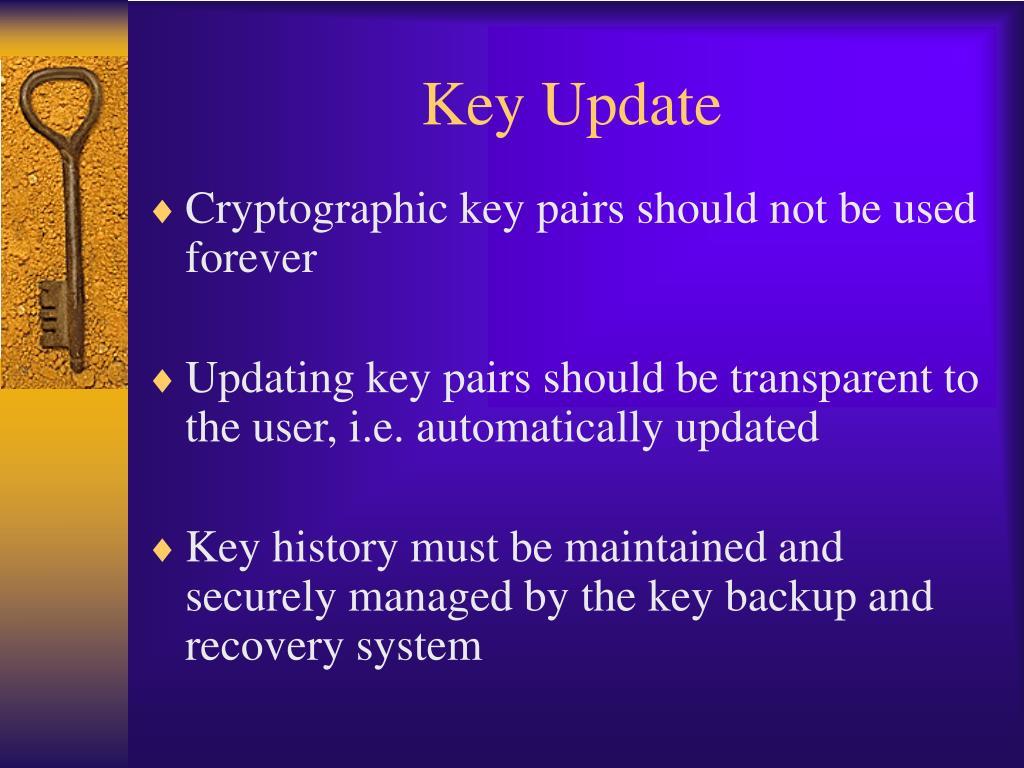 Key Update