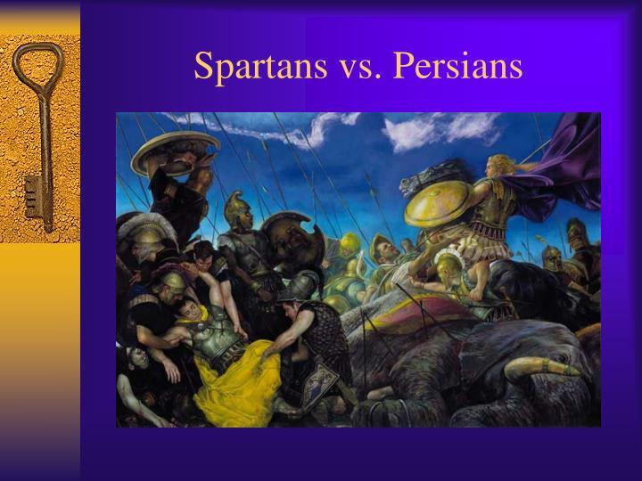 Spartans vs persians