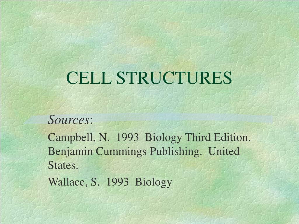 cell structures l.