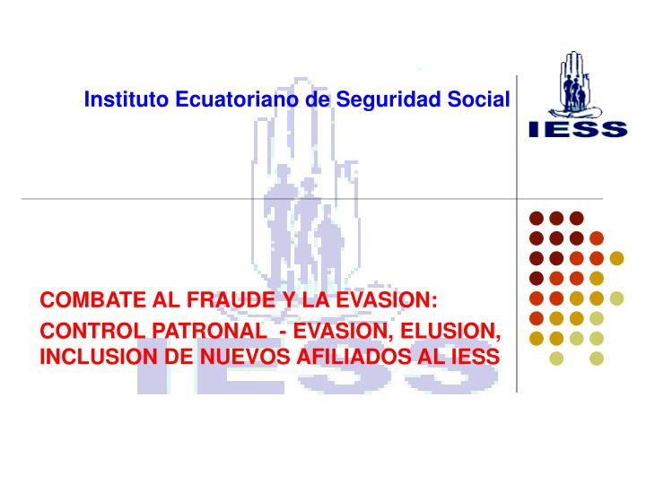 instituto ecuatoriano de seguridad social n.
