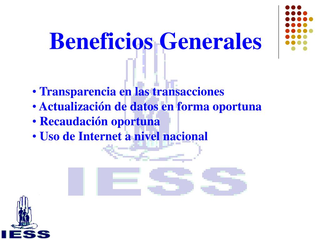 Beneficios Generales