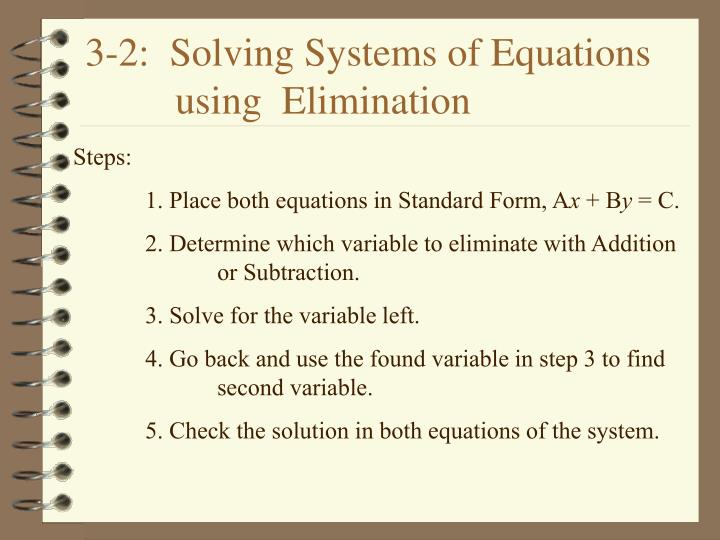3 2 solving systems of equations using elimination n.
