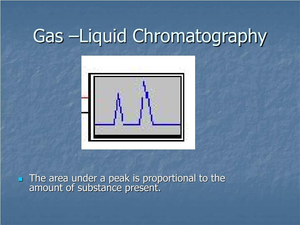 Gas –Liquid Chromatography