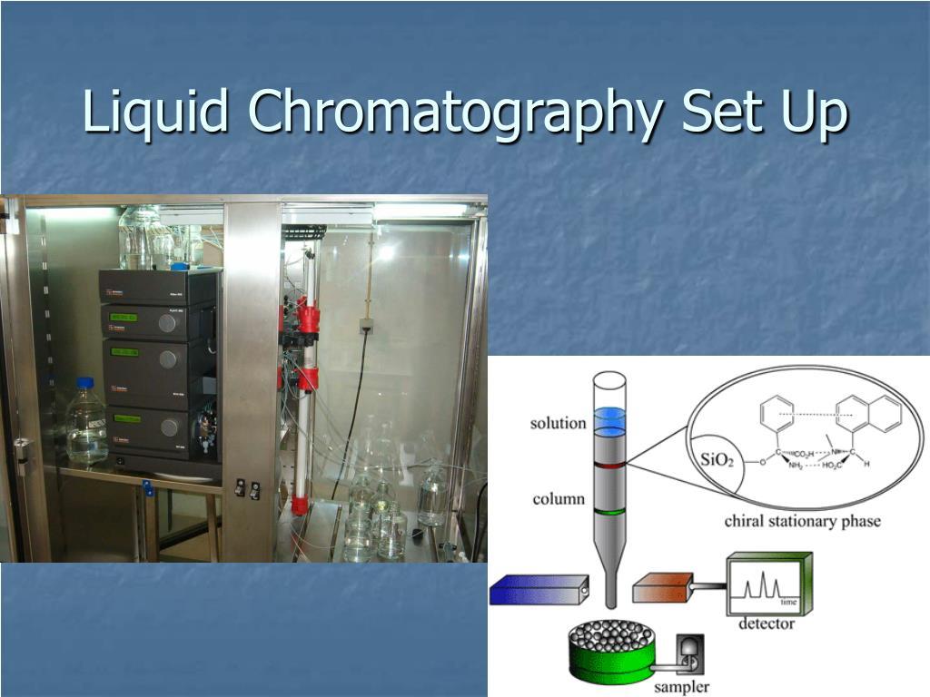 Liquid Chromatography Set Up