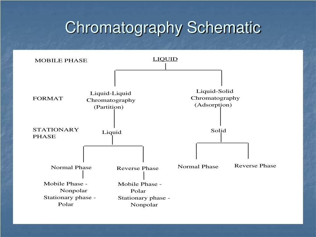 Chromatography Schematic