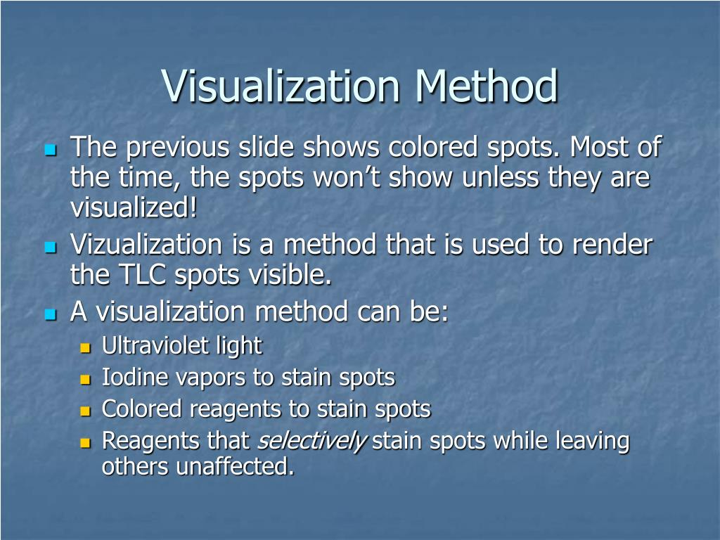 Visualization Method