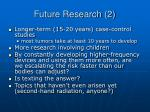 future research 2