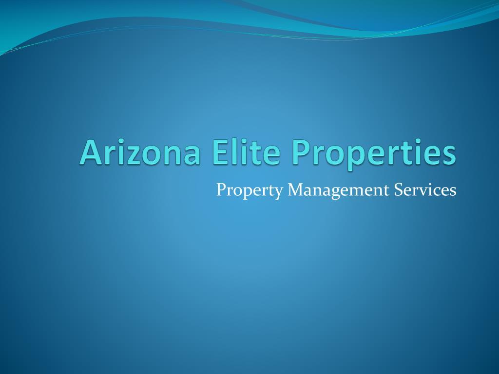 arizona elite properties l.