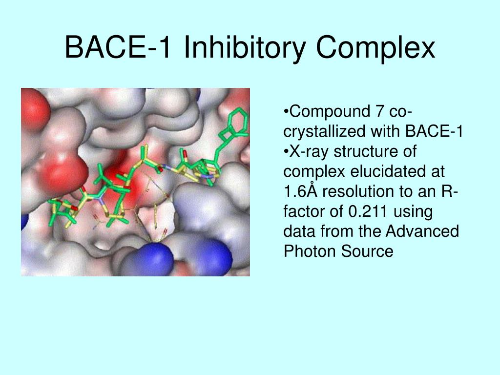 BACE-1 Inhibitory Complex