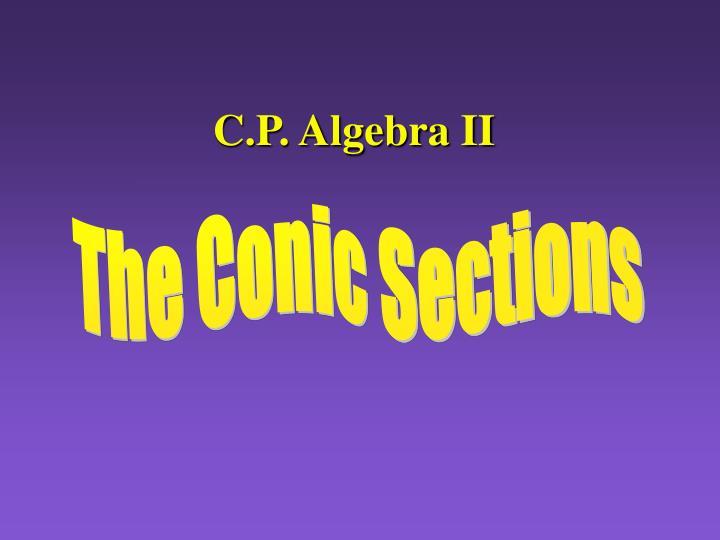 c p algebra ii n.