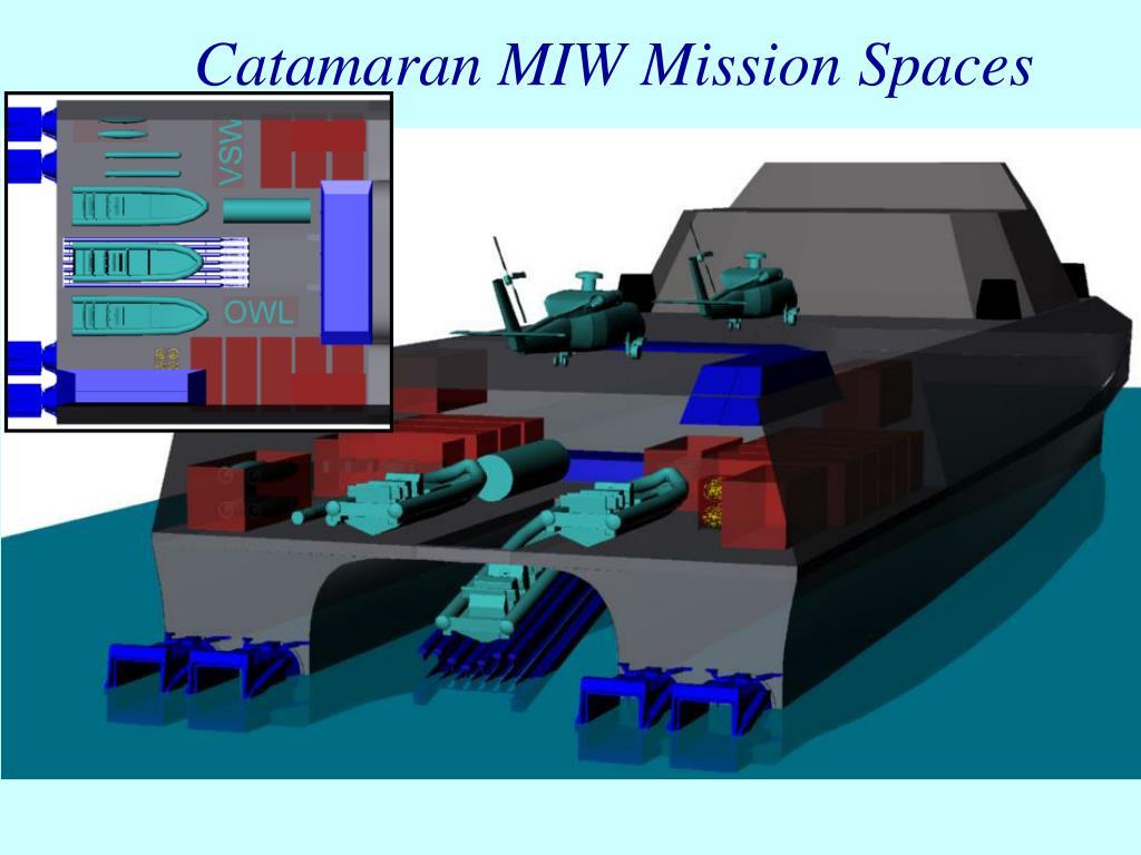 Catamaran MIW Mission Spaces