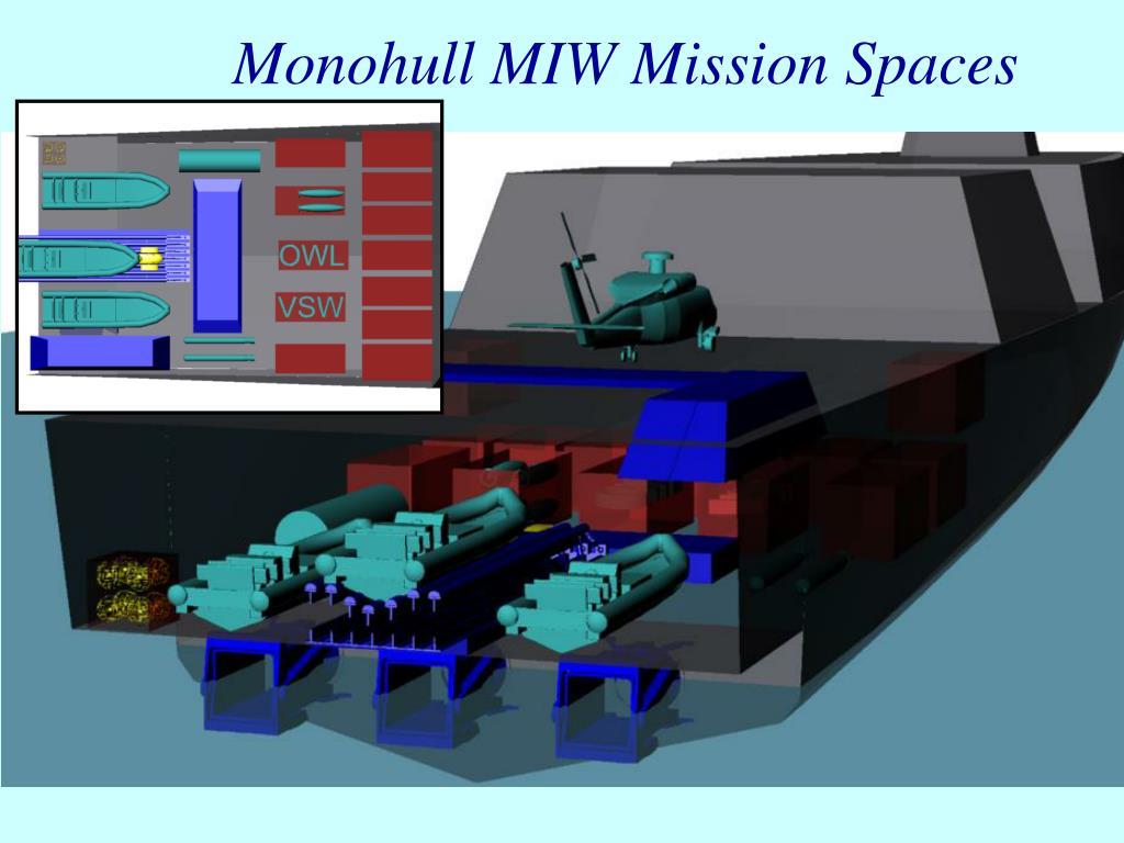 Monohull MIW Mission Spaces
