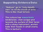 supporting evidence data14