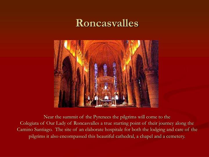 Roncasvalles