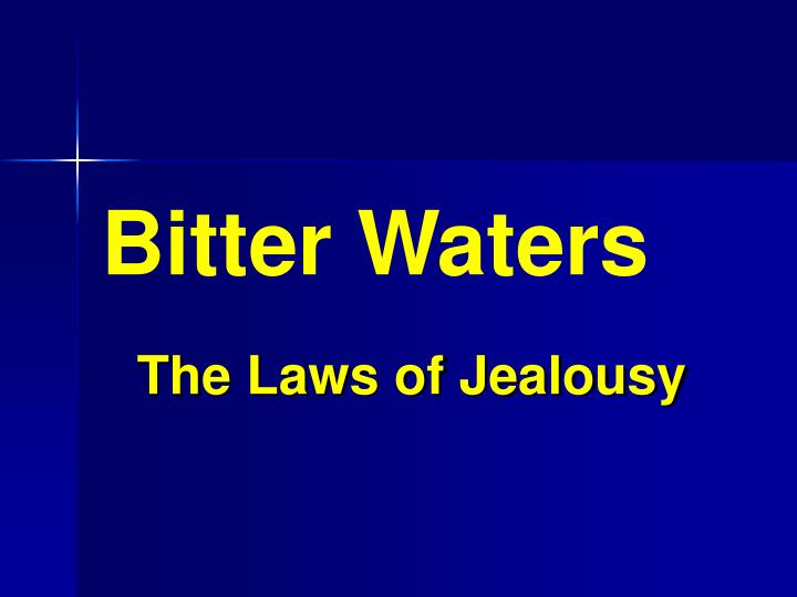 bitter waters n.
