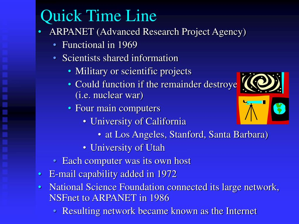 Quick Time Line