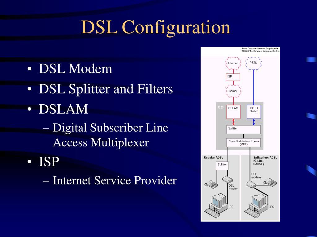 DSL Configuration