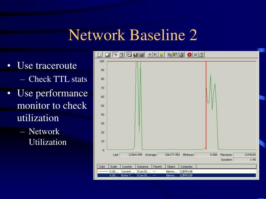 Network Baseline 2