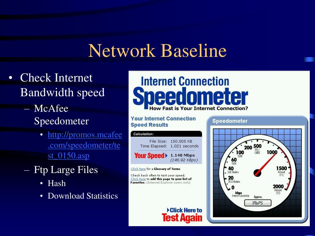 Network Baseline