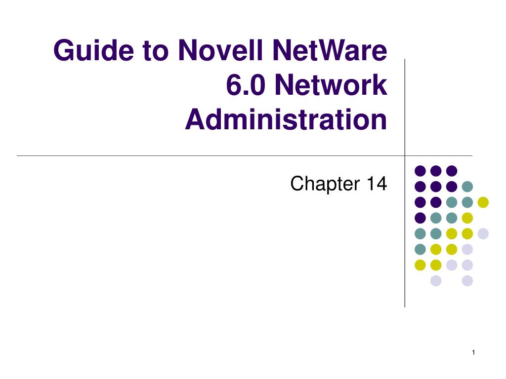 guide to novell netware 6 0 network administration l.