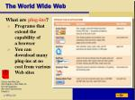 the world wide web37