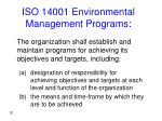 iso 14001 environmental management programs
