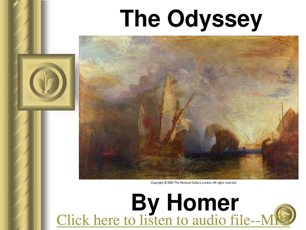 a review of leadership of odysseus in the odyssey by homer Download the odyssey by homer  the odyssey tells the story of odysseus's finally it was stephen's review that convinced me to go for the robert fagles.