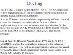 docking