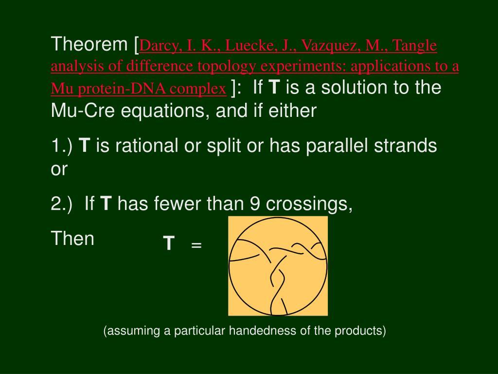 Theorem [