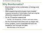 why bioinformatics87