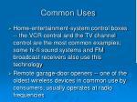 common uses5