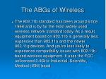 the abgs of wireless26